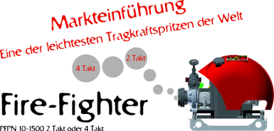 Markteinf�hrung Fire - Fighter 10-1500